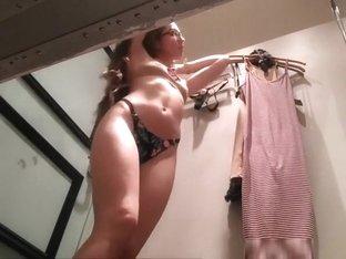 Voyeur secretly films two chicks in change room