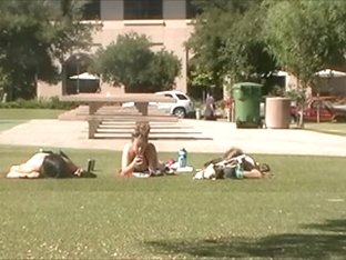 Around Campus Series 1: three Fuckables in Bikinis