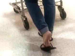 Candid feet #55