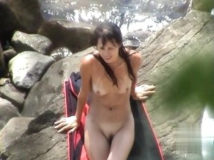 Nude Beach. Voyeur Video 263