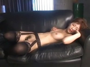 Crazy Japanese slut Kaho Kasumi in Horny Stockings/Pansuto, Rimming JAV scene