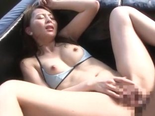 Crazy Japanese chick in Exotic Gangbang, Fingering JAV clip