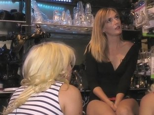 Two Busty Bombshell Blondes Disgraced Like Dogs by Mona Wales