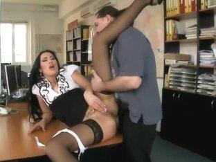 Carmen Rose is one hell of a secretary ....