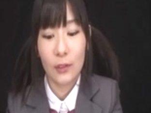 Ryoko Hirosaki gokkun drink. CENSORED