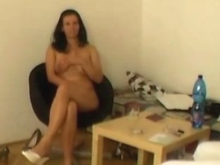 Blow job by real czech busty lady
