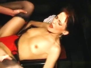 Hot Milf Stripper Fucked In The Club