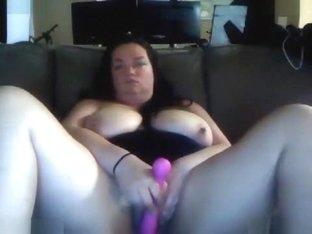 Horny Webcam record with Big Tits, Masturbation scenes