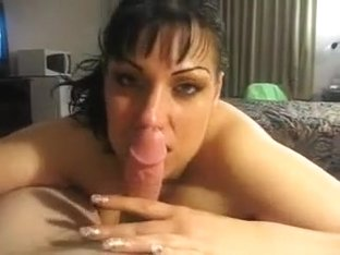 Chubby brunette girl shows her blowjob and titjob shomicides to me