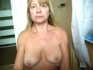 Mature golden-haired neighbor loves lovely chaps who are younger than her