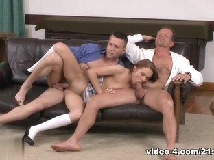 Exotic pornstar in Amazing DP, Threesomes adult video