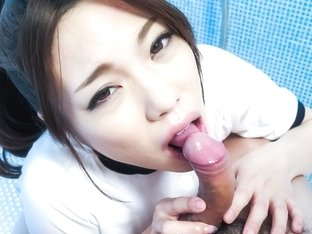 Hottest Japanese whore Emi Sasaki in Fabulous JAV uncensored Blowjob scene