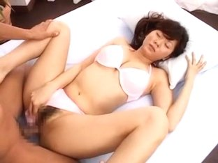 Horny Japanese whore Yuma Asami in Amazing Fingering JAV movie
