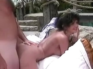 Anna Malle gets poolside anal