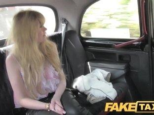 FakeTaxi: Biggest bushy cum-hole struggles with large shlong
