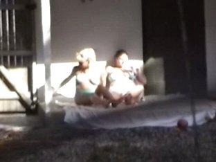 Nude pierced fems