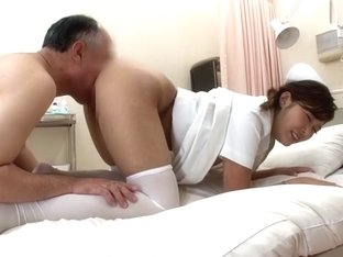 Crazy Japanese slut Maria Ono in Fabulous Stockings/Pansuto, Nurse/Naasu JAV clip