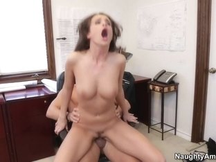 Teal Conrad & Mick Blue in Naughty Office