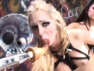 Incredible pornstars Julia Bond and Jaelyn Fox in fabulous cunnilingus, small tits xxx clip