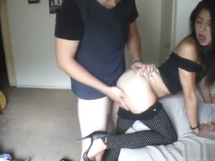 European amateur pussyfucked for cash