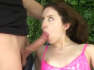 Slim and petite brunette Lola Milano gets rammed by Jmac