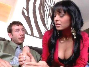 Alison Star sucks horny Jordan Ash and Ramon
