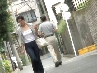 This ladies tits experienced shuri sharking on the street