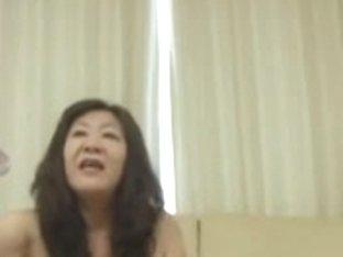 52yo Shaggy Japanese Granny Michiko Okawa Pt. 1 (Uncensored)