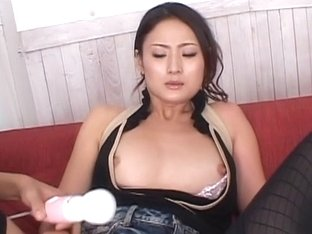 Hot Risa is open for some dildo play and taking in a boner