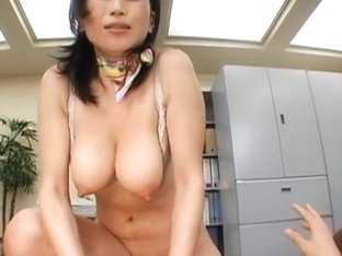 Office Japanese babes hammered