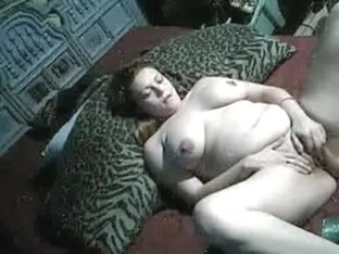 Black girl with huge tits gives a nice blowjob