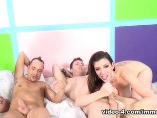 Fabulous pornstars Sara Jay, Virgo Peridot, Cali Marie in Amazing Cumshots, Group sex adult video