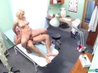 Fabulous pornstar in Amazing Blonde, Medical porn video