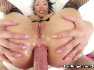 Amazing pornstar London Keyes in Horny Stockings, Asian porn movie