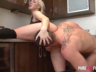 Best pornstar in Crazy Blonde, Big Cocks porn video