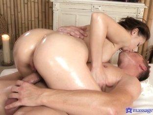 Incredible pornstars Steve, Maggie Nessi in Exotic Massage, Small Tits xxx movie
