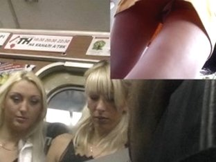 Subway upskirt trap