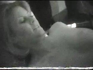 Sexy milf window spy after sex