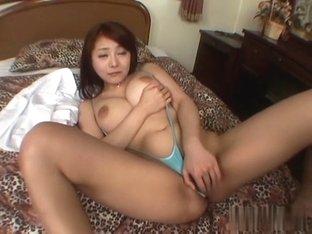 Best Japanese chick in Crazy JAV uncensored Lingerie video