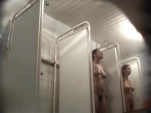 Hidden cameras in public pool showers 612