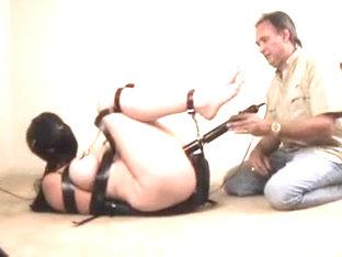 Land lady spank