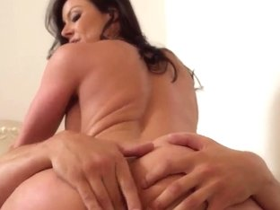 Busty brunette milf Kendra Lust riding lucky Tyler Nixon's cock