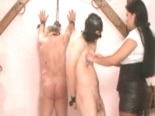 three Slaves Abased!!!