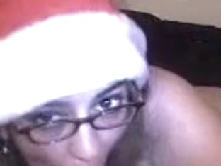 Cock sucking Santa is my best gift for the Christmas