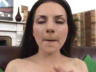 Legal Age Teenager bonks and sucks on biggest dildos