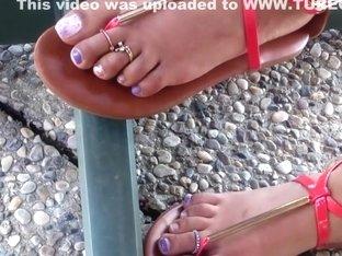 Feet in flats