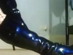 latex chick worshipping shoes and boots