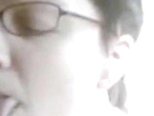 Nerd whore needs flowing cum