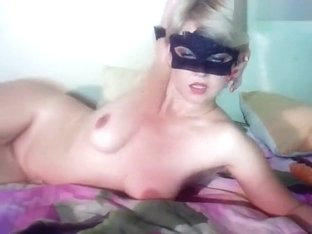 Blonde Romashkasvs fucks her pussy