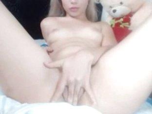 Beautiful Latin Blonde Teen